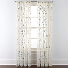 JCPenney Home™ Malta Rod-Pocket Curtain Panel