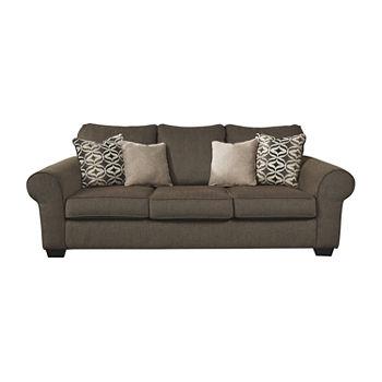 Signature Design by Ashley Nesso Roll-Arm Sofa