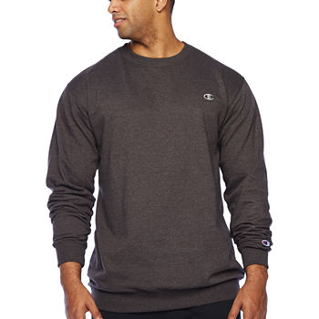 Champion Big and Tall Mens Crew Neck Long Sleeve Sweatshirt