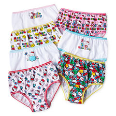 Hello Kitty® 7-pk. Brief Panties - Girls 2t-6