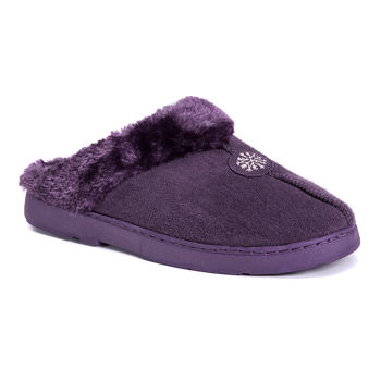 07ee76a5a83f Muk Luks Purple Women s Slippers for Shoes - JCPenney
