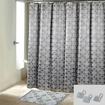 Avanti Galaxy Shower Curtain Set
