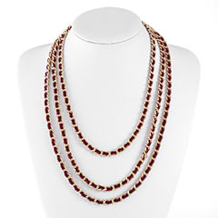 Liz Claiborne 25 Inch Chain Necklace