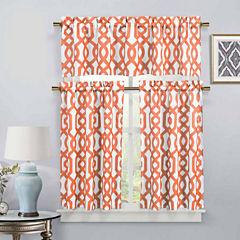 Duck River Ashmont 3-pc. Kitchen Curtain Set