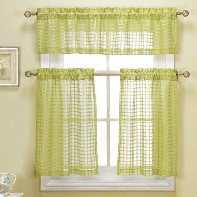 Kitchen U0026 Bath Curtains Green