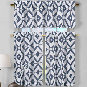 bathe royal curtain kitchen colored blue curtains solid