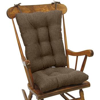 Klear Vu Tyson Gripper 2 Pc Jumbo Chair Cushion Set