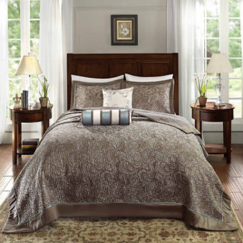 Madison Park Whitman 5-pc. Bedspread Set