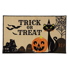 JCPenney Home™ Trick or Treat Rectangular Rug