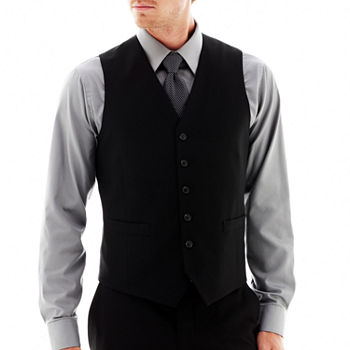 JF J. Ferrar® 360 Stretch Slim Fit Suit Vest