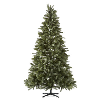 Clearance Christmas Trees.North Pole Trading Co 7 1 2 Foot Hampton Spruce Pre Lit Multi Function Lights Christmas Tree