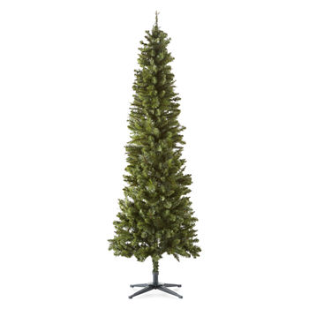 Christmas Tree Clearance.North Pole Trading Co 7 Foot Clinton Fir Pre Lit Christmas Tree