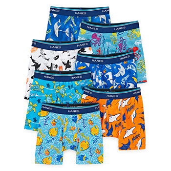 Hanes Toddler Boys 7 Pack Boxer Briefs