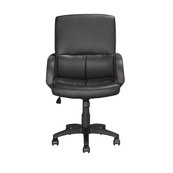 Workspace Executive Faux-Leather Office Chair