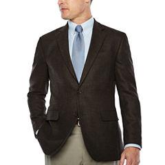 Stafford® Merino Wool Sport Coats Brown Texture - Classic