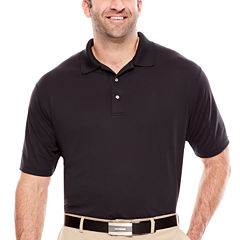 PGA TOUR® Short Sleeve Airflux Solid Polo- Big & Tall