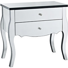 Leigh Mirrored Console Table