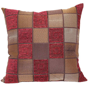 Red Decorative Pillows Shams For Bed Bath Jcpenney