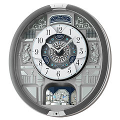 Seiko Gray Wall Clock-Qxm366srh