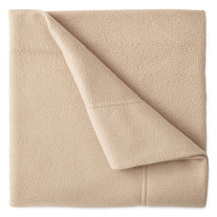 Sunbeam® Set of 2 Super-Soft Heavyweight Fleece Pillowcases