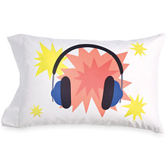 Scribble Throw Pillow Cover