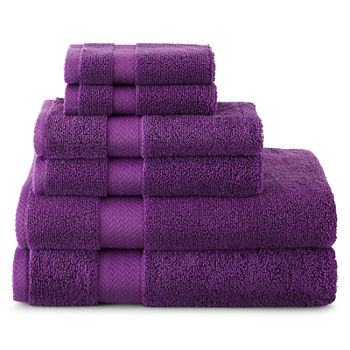 Purple Bath Towels For Bed Amp Bath Jcpenney