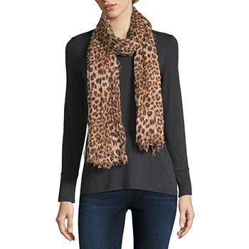 3850be3892eca Mixit Oblong Animal Scarf