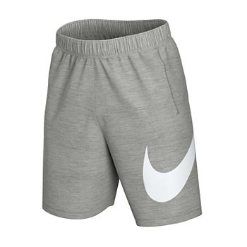 nike shorts grey mens