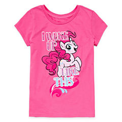 My Little Pony Graphic T-Shirt-Big Kid Girls