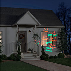 Happy Halloween Whirl-a-Motion with Strobe Projection Light