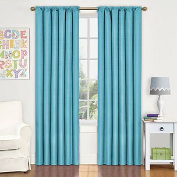 dot cheap p curtains purple for kids bluepurple room blue polka