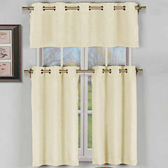 Duck River Agnes 3-pc. Kitchen Curtain Set
