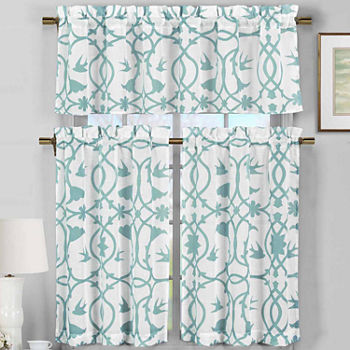 sharp bathroom window coverings | Kitchen Curtains & Bathroom Curtains - JCPenney
