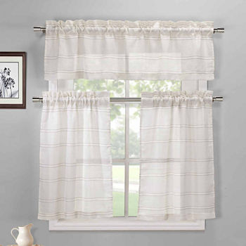 kitchen curtain sets clearance. Coffee Linen Kitchen Curtain Sets Curtains Closeouts for Clearance  JCPenney