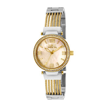 Invicta Bolt Womens Two Tone Stainless Steel Bracelet Watch - 29141