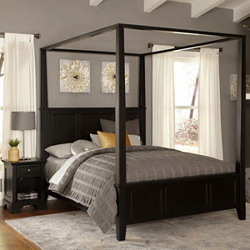 bedroom sets bedroom collections jcpenney - Light Hardwood Canopy 2016