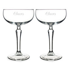 Cathy's Concepts 2-pc. Champagne Flutes
