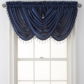 Waterfall Blue Curtains Drapes For Window