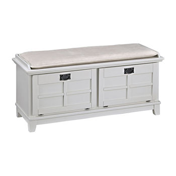 Bedroom Benches White Ottomans & Benches For The Home - JCPenney