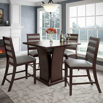 36 Counter Height Cappuccino Dining Set