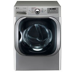 LG ENERGY STAR® 5.2 cu.ft. Mega Capacity TurboWash™ Front-Load Washer with Steam Technology