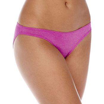 Ambrielle® Micro Heather Bikini Panties