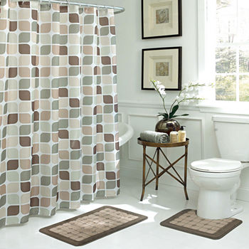 bathroom sets curtain rugs shower with luxury curtains brilliant