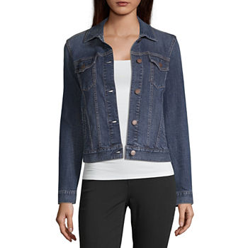 a.n.a Womens Denim Jacket