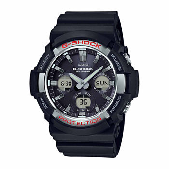 Casio G-Shock Mens Black Strap Watch-Gas100-1a