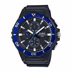 Casio Mens Black Strap Watch-Mrw400h-2a