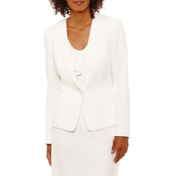 Black Label By Evan Picone White Suits Suit Separates For Women