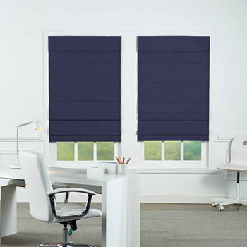 Insulating Energy Saving Cordless Blackout Roman Shade