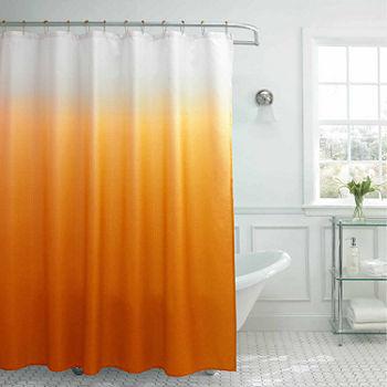 Shower Curtain Sets Orange Curtains For Bed Bath