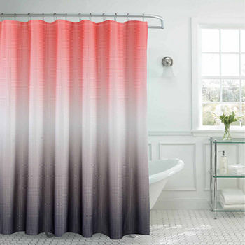 Shower Curtain Sets Orange Curtains For Bed Bath